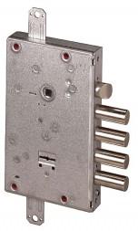 Замок врезной сувальдный с защёлкой NEW CAMBIO FACILE 57.665.48 (тех. упаковка), ключ 64 мм
