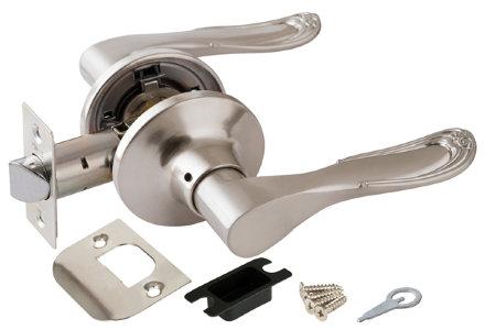 Ручка Punto (Пунто) защелка 6030 SN-P (без фик.) мат. никель