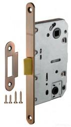 Защелка врезная FUARO PLASTIC P96WC-50 AC медь