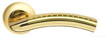 Ручка раздельная Libra LD26-1SG/GP-4 матовое золото/золото