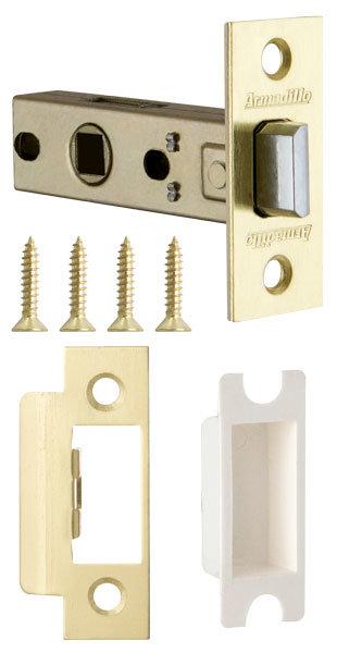 Защелка Armadillo (Армадилло) врезная LH 120-45-25 SG Матовое золото BOX /прям/