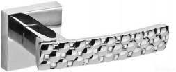 Ручка раздельная FUARO CRYSTAL STAR DM CP-8 хром