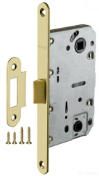 Защелка врезная FUARO PLASTIC P96WC-50 SG мат. золото
