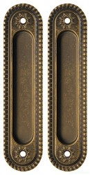 Ручки для раздвижной двери ARMADILLO SH010/CL OB-13 Античная бронза