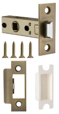 Защелка Armadillo (Армадилло) врезная LH 120-45-25 WAB Матовая бронза BOX /прям/