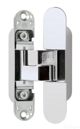E30200.02.34 (мат. хром) петля ECLIPSE 3.0 (4 накладки в комплекте)