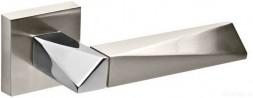 Ручка раздельная FUARO DIAMOND DM SN/CP-3 матовый никель/хром