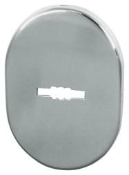 Декоративная накладка ESC 475 СP ХРОМ на сувальдный замок