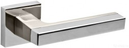 Ручка раздельная FUARO FLASH DM CP/SN-8 хром/матовый никель