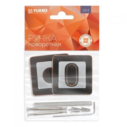 Ручка поворотная FUARO BK6 XM ABL/CP-18 темная медь