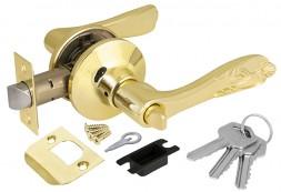 Ручка Punto (Пунто) защелка 6033 PB-E (кл./фик.) золото