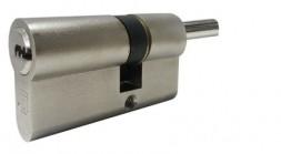 Цилиндровый механизм Guardian (Гардиан) с вертушком GB 82 мм (41/41V) Ni никель 5 кл.