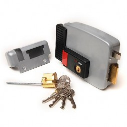 Cisa 11.630.60.2 (дверь лев., открывается внутрь) замок накладной электромеханический