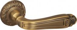 Ручка раздельная FUARO LOUVRE SM AB-7 матовая бронза