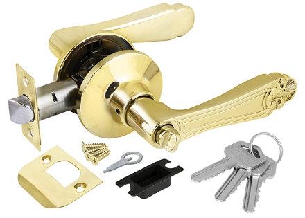 Ручка Punto (Пунто) защелка 6037 PB-E (кл./фик.) золото