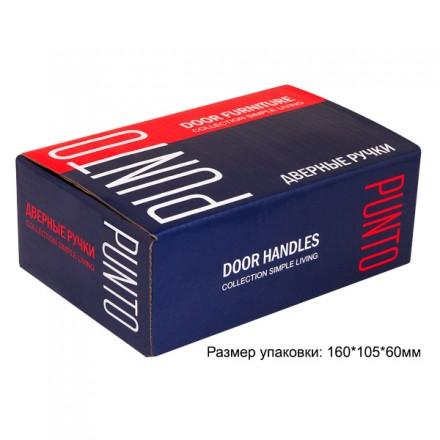 Ручка раздельная PUNTO REX TL SN/CP-3 матовый никель/хром